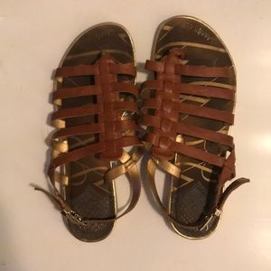 Used Sam & Libby Gladiator Sandals